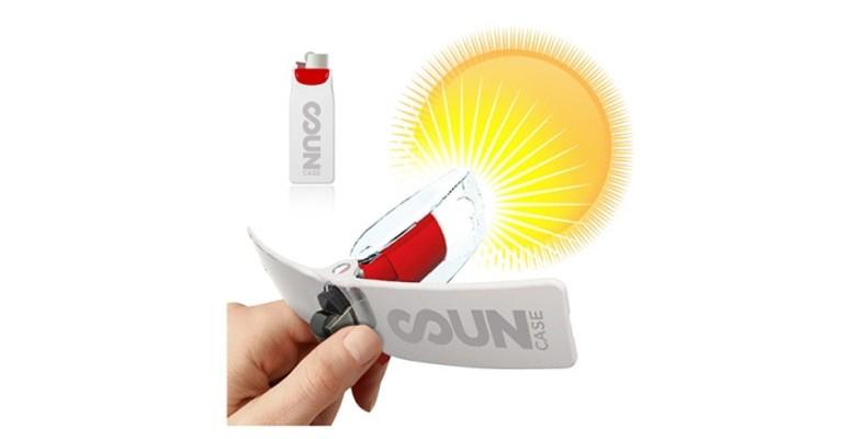 Le briquet solaire, une idée de cadeau écoresponsable